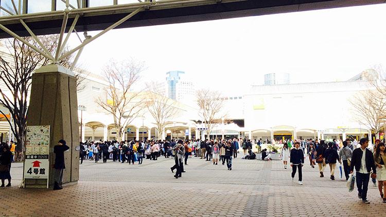 インテックス大阪広場