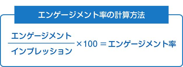 エンゲージメントの計算方法
