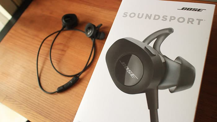 SoundSport wireless headphonesの箱