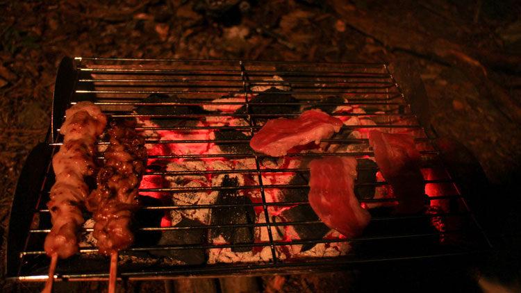 焼肉と焼き鳥