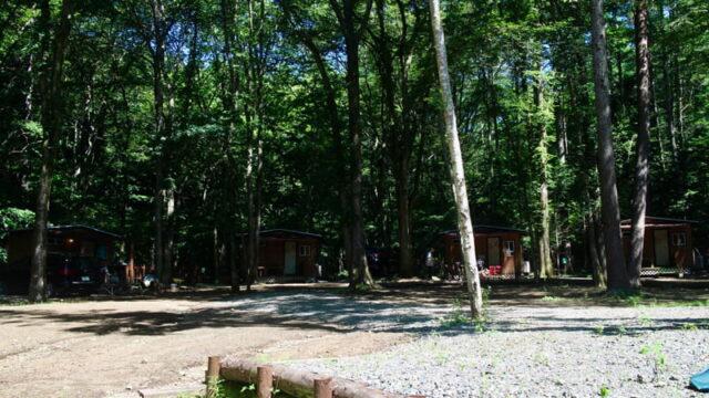 とにかく綺麗!山梨県の山中湖ICから15分のキャンプ場「ビアッソ」でソロキャンプ